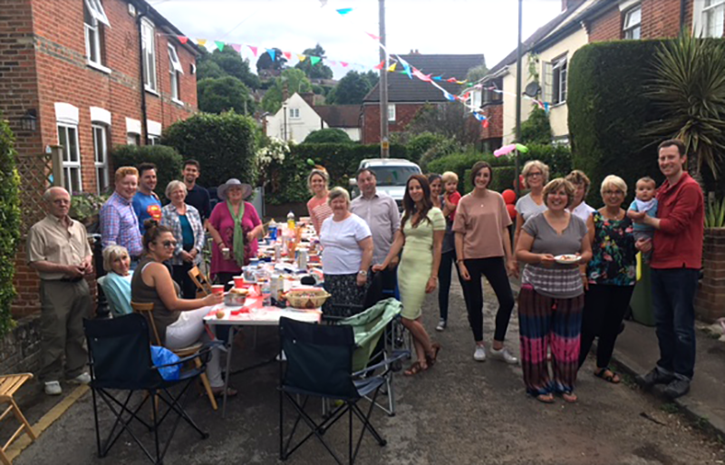 North Street Farncombe Street Party